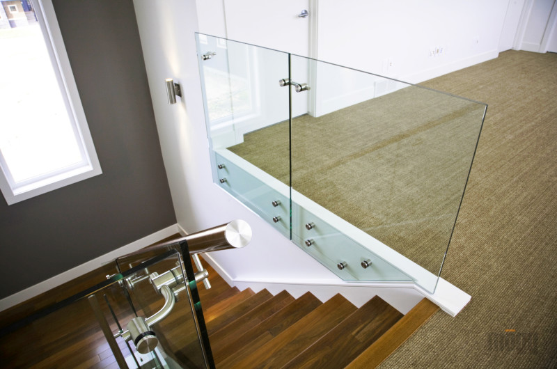 Gallery - glass Railing and stainless steel Railing